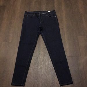 Vince Camuto Womens Skinny Jeans Plus Size 14